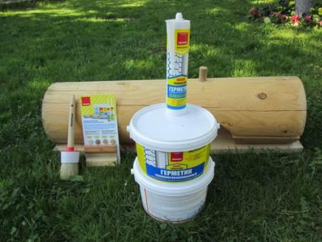 Современные герметики для древесины