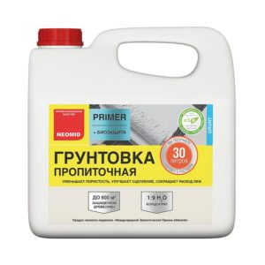 Neomid primer - грунтовка пропиточная