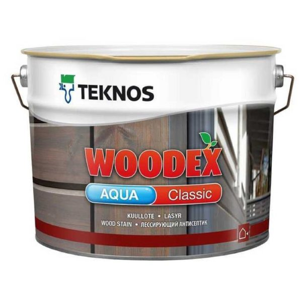 Teknos Woodex Aqua Solid (Вудекс Аква Солид)