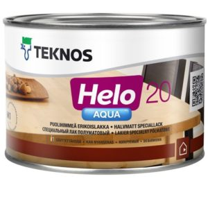 Лак Teknos Heio Aqua 20 (Хело Аква)