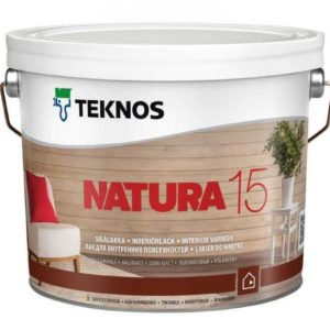 Лак Teknos Natura 15 (Натура)