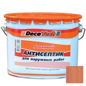 Deco Tech eco - лессирующая краска антисептик