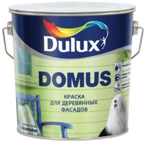 Краска для деревянных фасадов DULUX DOMUS